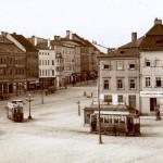Konečná na Kaiserplatzu...