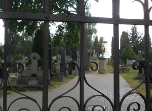 Hřbitov na Kalvarii...