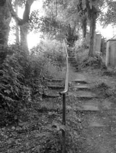 schody mlýnské na vyhlídce