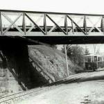 Viadukt v Havlíčkově ulici v Dřevěných mlýnech pod Černou cestou...