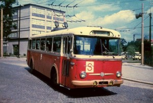"""Trolejbus se stal v Jihlavě po roce 1968 kádrovým všelékem pro mnoho těch, kteří se nestihli, nebo nechtěli, """"pomýlit""""..."""